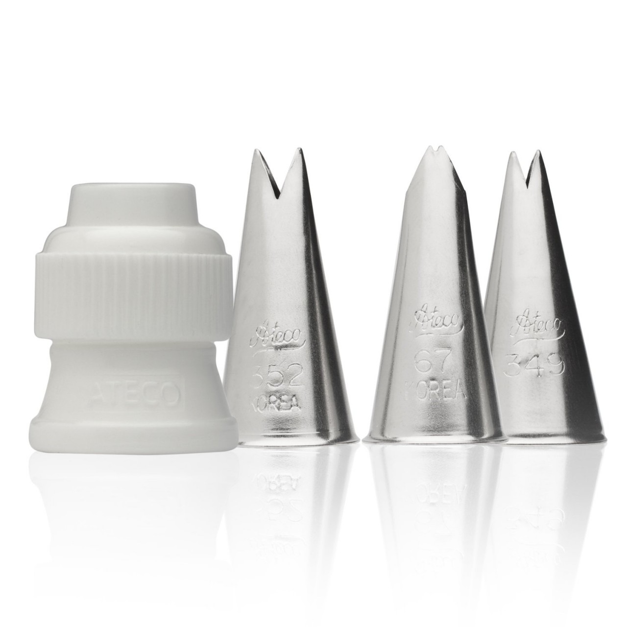 ATECO Leaf Tube Set - 4 Pieces