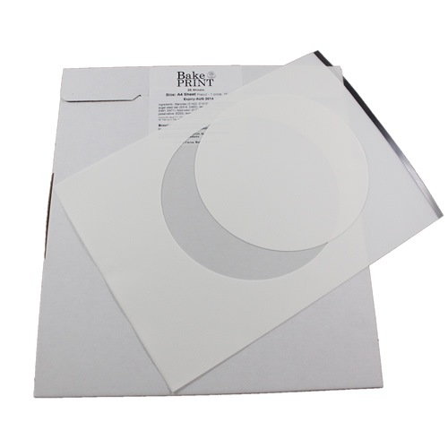 Premium Icing Edible Sheet 20cm (8) Circle - 24 sheets