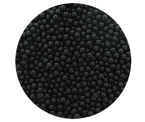 Cachous Round - BLACK 4mm (1kg)