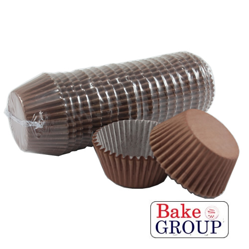 PLAIN BROWN Baking Cups - 500 pack