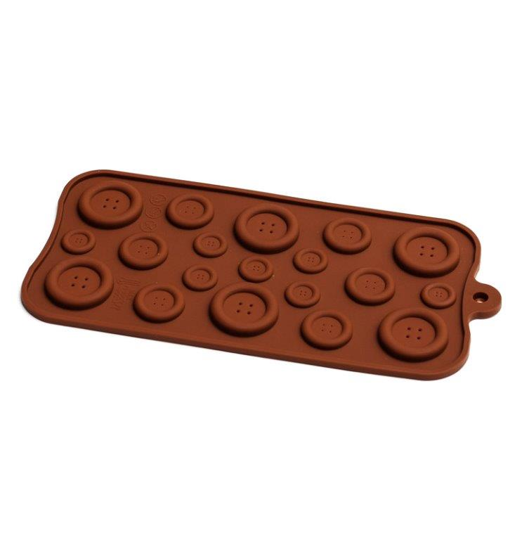 BUTTONS Silicone Chocolate Mould
