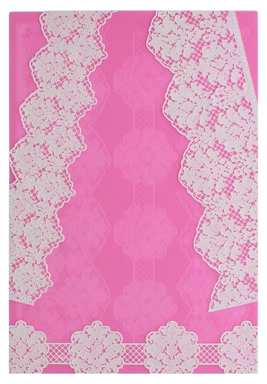 DAMASK 3D Cake Lace Mat - by Claire Bowman
