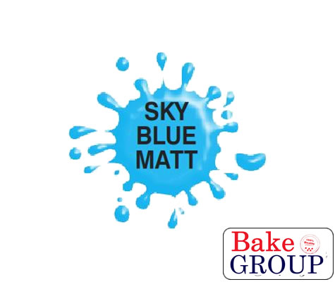 Airbrush Paint (MATT SKYBLUE) for Chocolate/Sugarpaste 60g - by Dinkydoodle Designs
