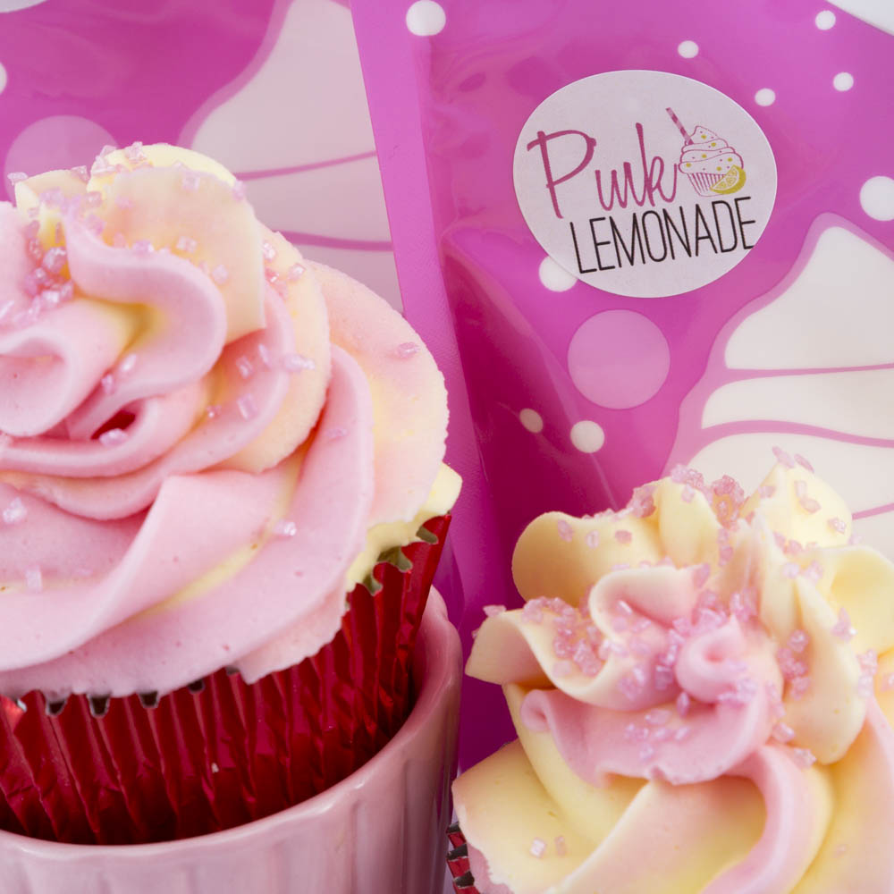 PINK LEMONADE Natural Flavoured Icing Sugar (250g)**