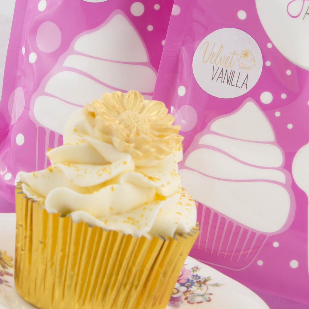 VELVET VANILLA Natural Flavoured Icing Sugar (250g)**
