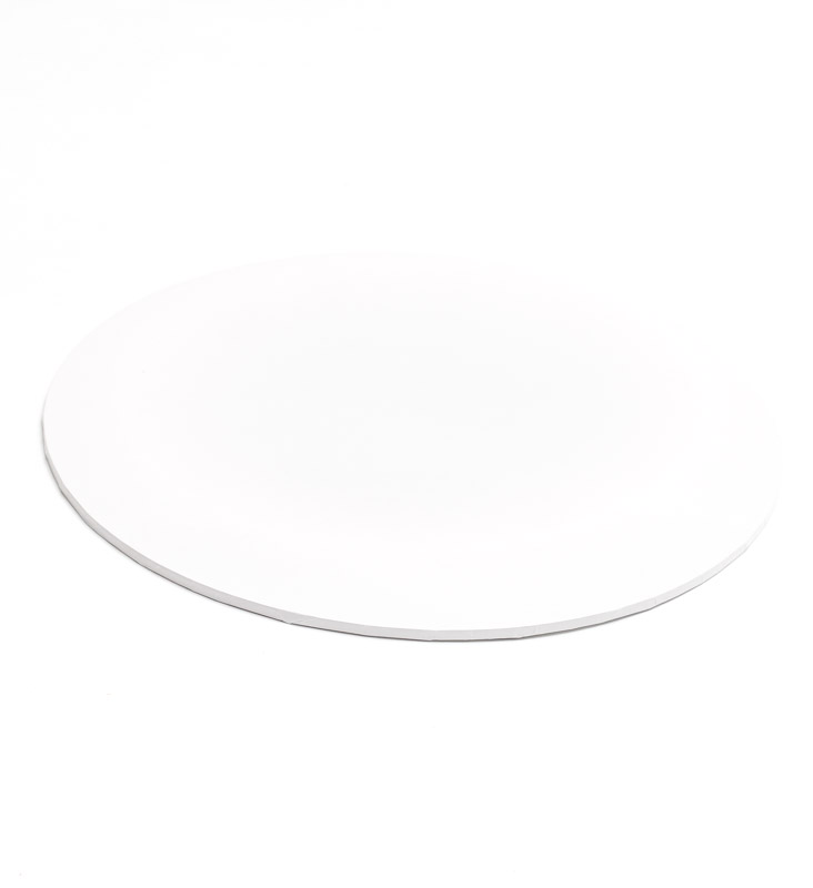 Masonite Cake Board (WHITE) - 12 ROUND