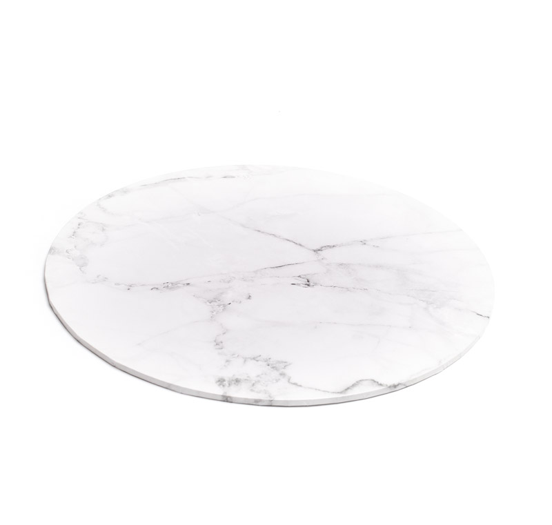 Food Presentation Board (MARBLE) - 12 ROUND