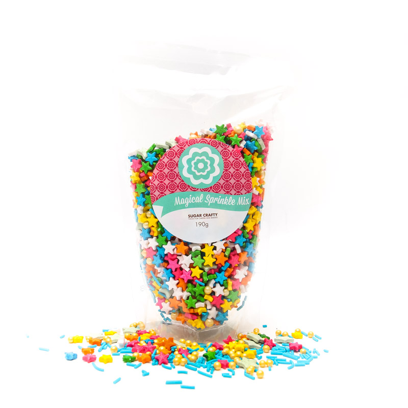 MAGICAL SPRINKLE MIX 190g - by Sugar Crafty