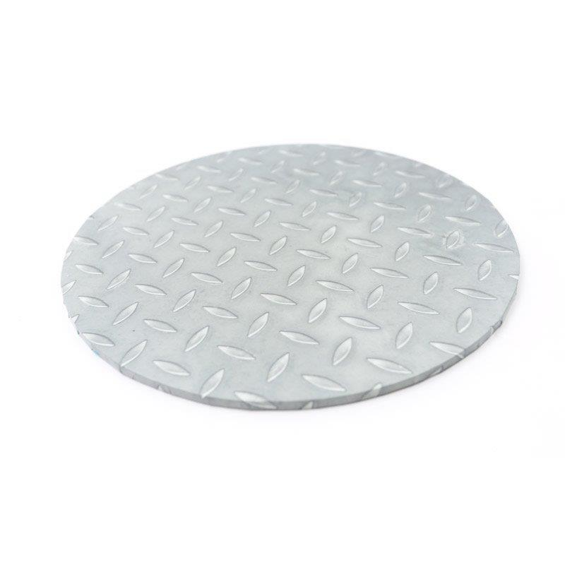 Food Presentation Board (CHECKER PLATE) - 12 ROUND