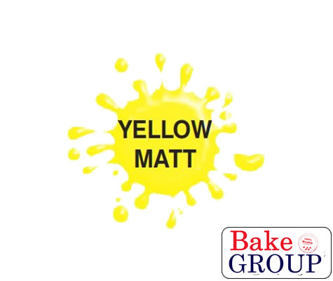 Airbrush Paint (MATT YELLOW) for Chocolate/Sugarpaste 60g - by Dinkydoodle Designs