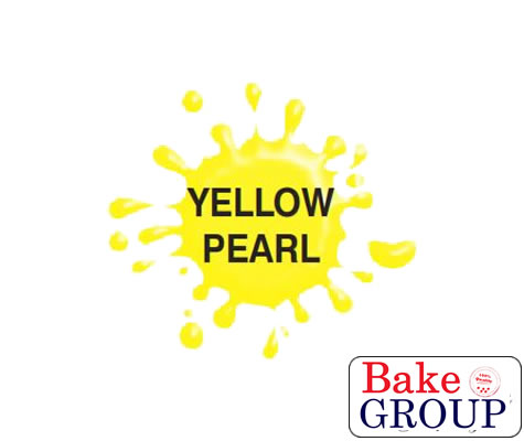 Airbrush Paint (PEARL YELLOW) for Chocolate/Sugarpaste 100g - by Dinkydoodle Designs