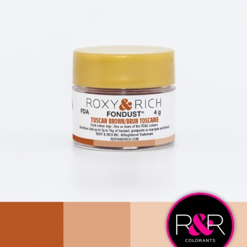 TUSCAN BROWN Fondust Dusting Colour 4g - ROXY & RICH