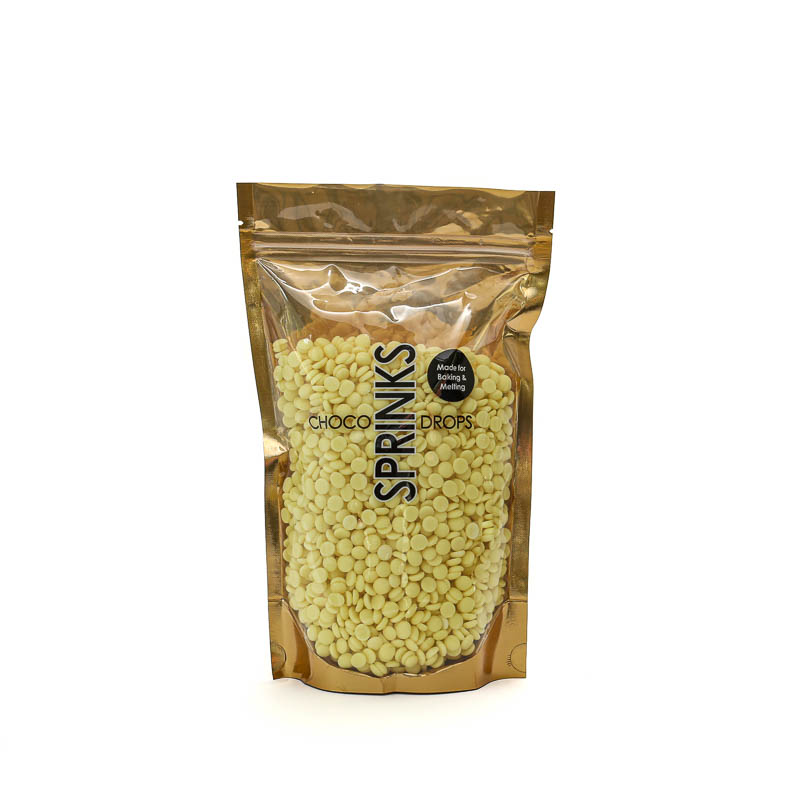 500g SPRINKS Choco Drops - YELLOW
