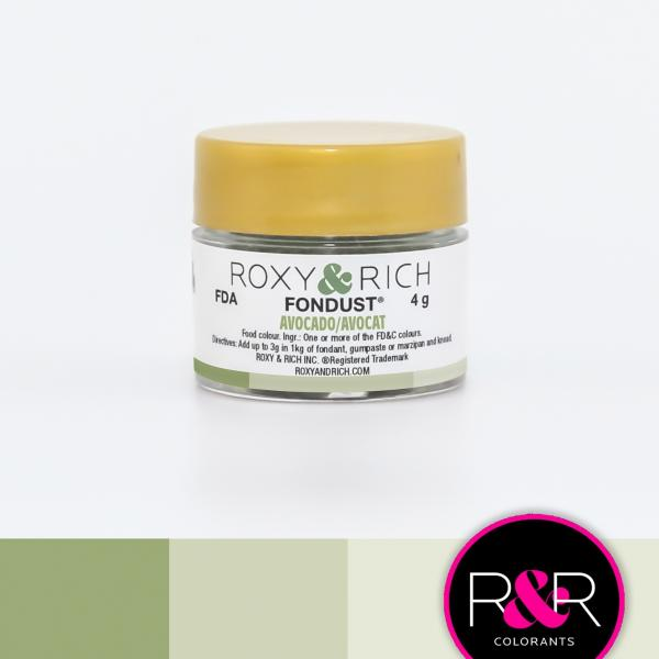 AVOCADO Fondust Dusting Colour 4g - ROXY & RICH