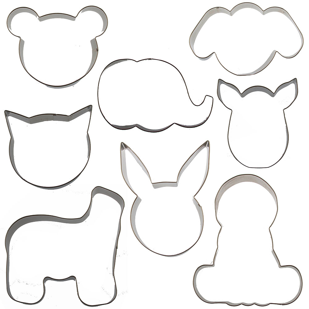Mix and Match Animal Cutter Set - by Sweet Elite