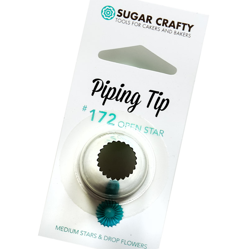 Sugar Crafty Open Star Icing Tip 172