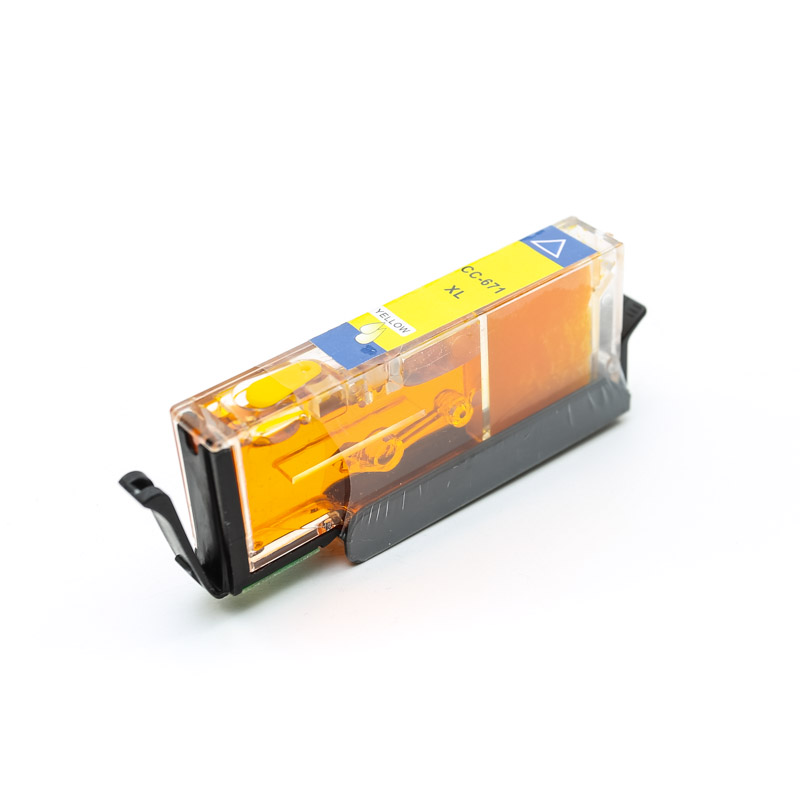 NEW 671 Edible Ink Cartridge - YELLOW