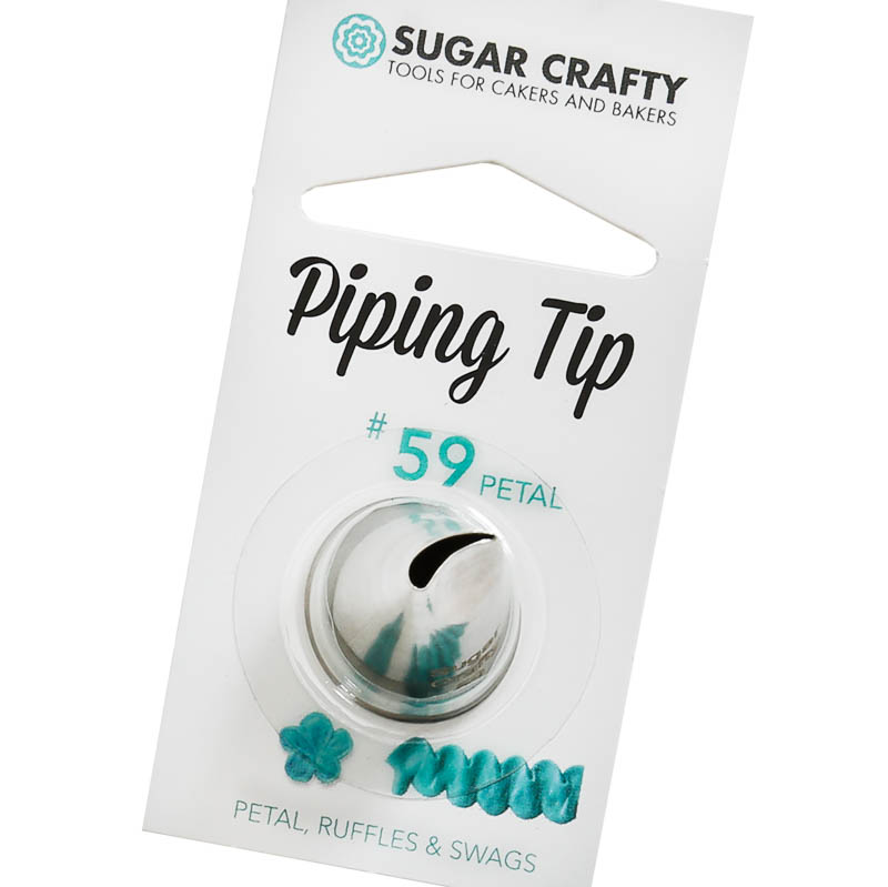 Sugar Crafty Petal Icing Tip 59