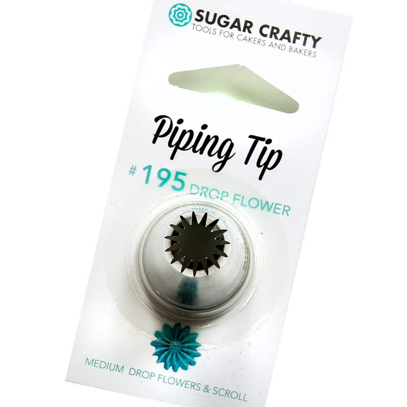 Sugar Crafty Drop Flower Icing Tip 195