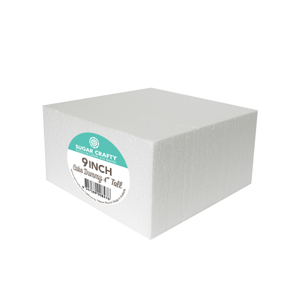 Cake Dummy - SQUARE 9 x 4 High