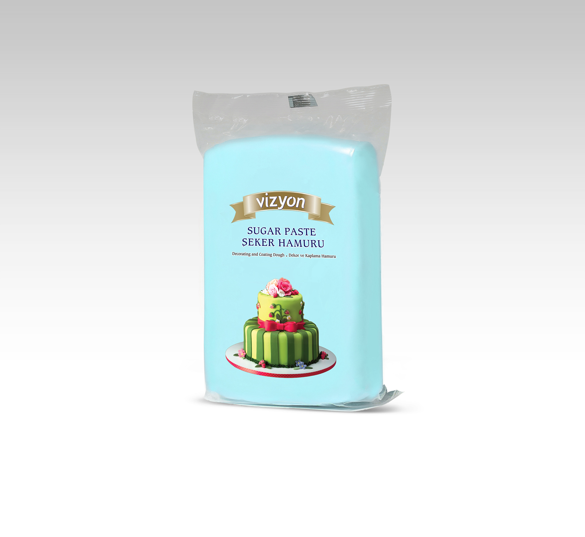 LIGHT BLUE Vizyon Fondant 1kg**