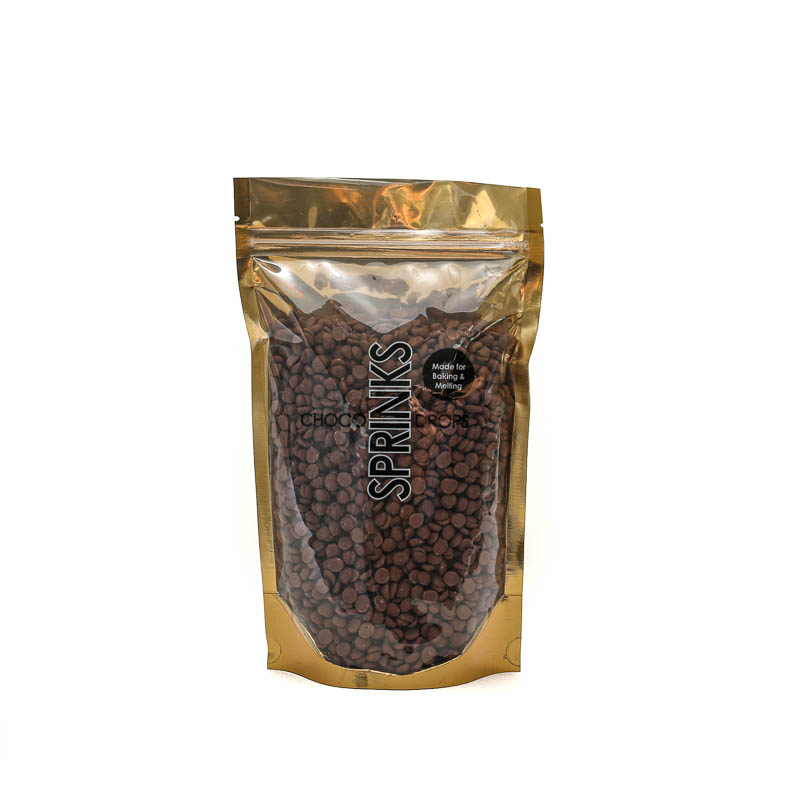500g SPRINKS Choco Drops - BROWN