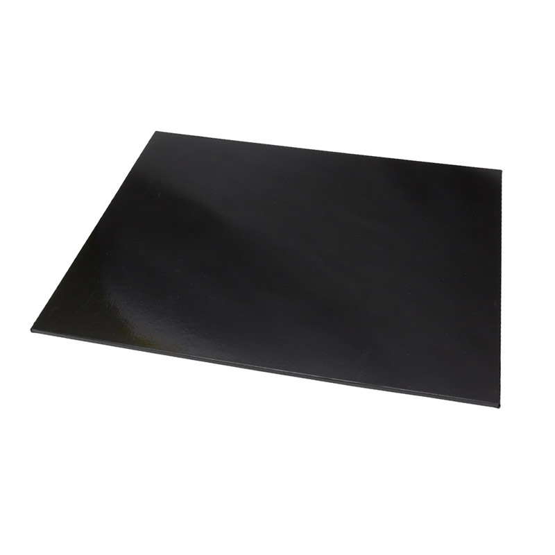 Masonite Cake Board (BLACK) - RECTANGLE (45cm x 35cm)