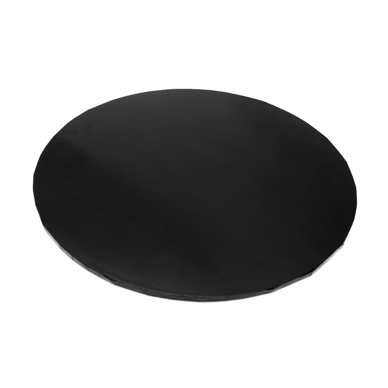 Masonite Cake Board (BLACK) - 12 ROUND