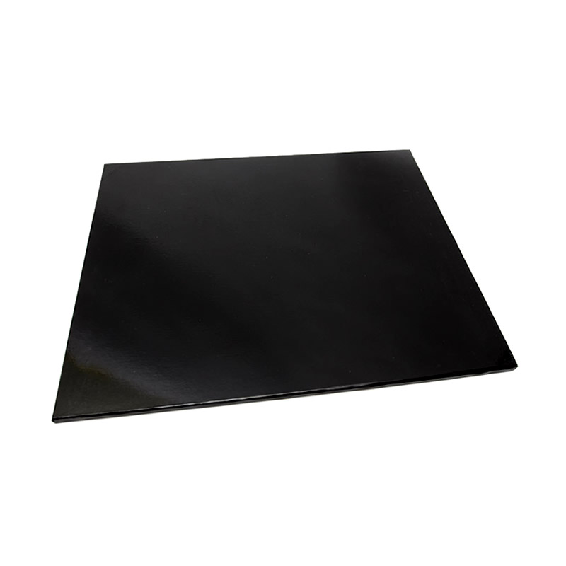 Masonite Cake Board (BLACK) - 14 SQUARE