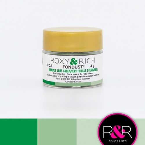 MAPLE LEAF GREEN Fondust Dusting Colour 4g - ROXY & RICH