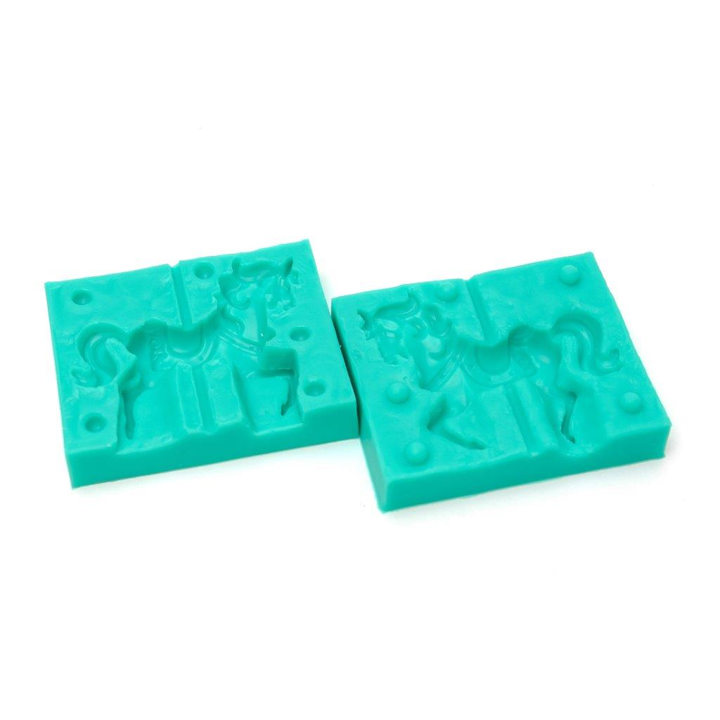 Silicone Mould - CAROUSEL HORSE (SET OF 2)