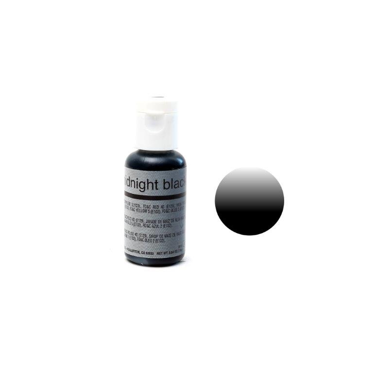 Chefmaster Airbrush Colour MIDNIGHT BLACK (0.64oz)**
