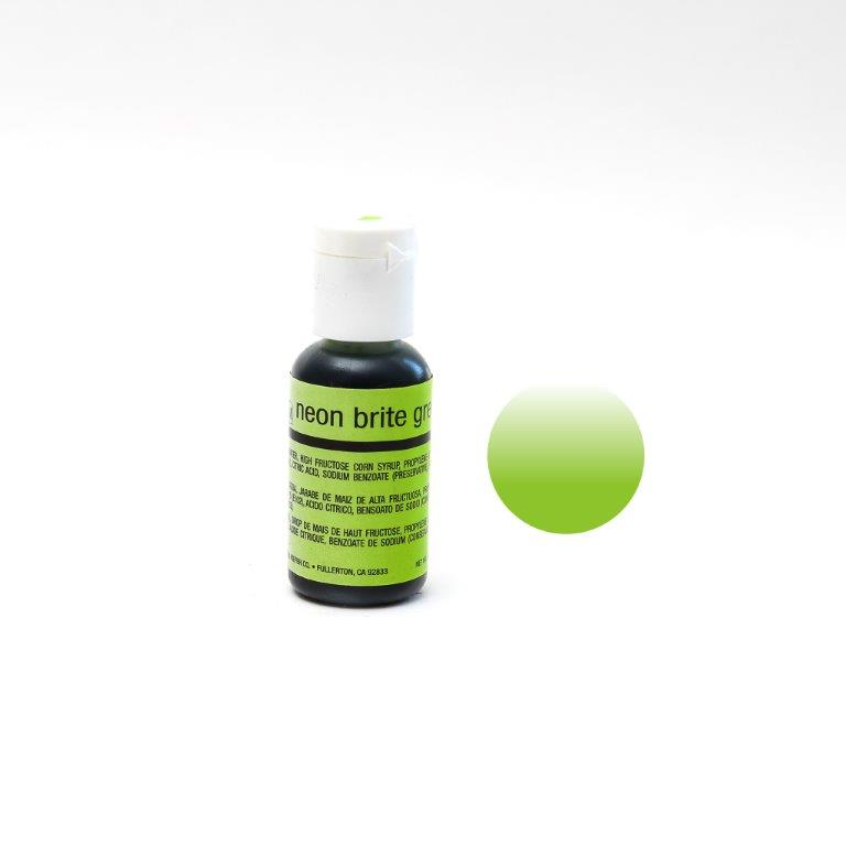 Chefmaster Airbrush Colour NEON GREEN (0.64oz)**