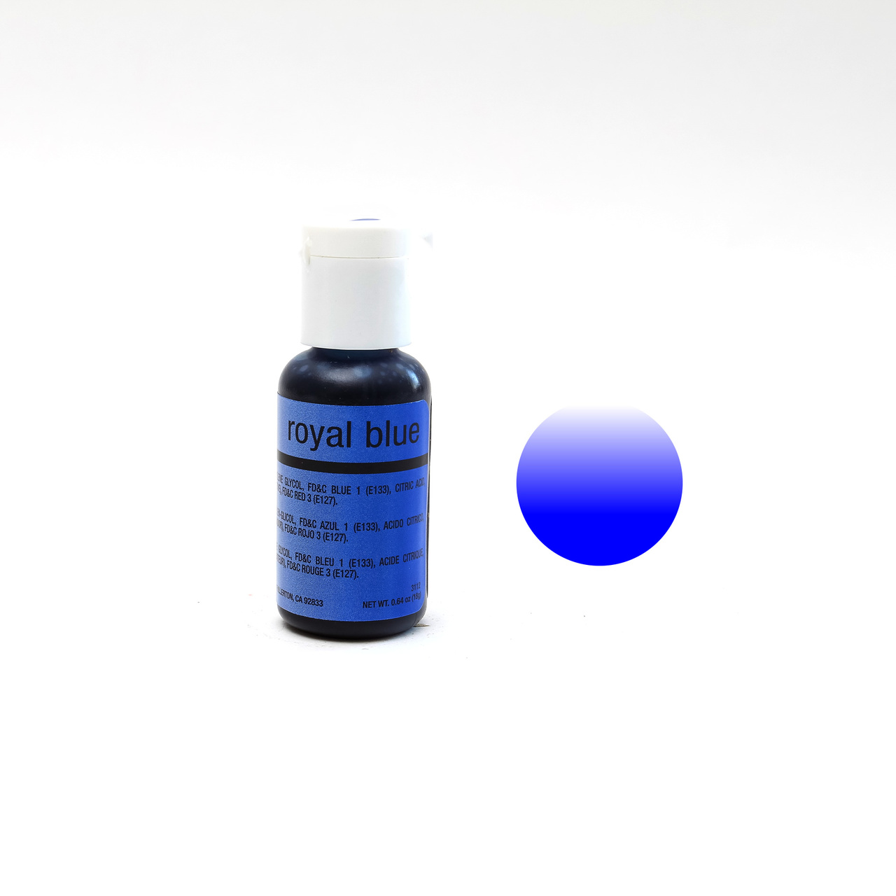 Chefmaster Airbrush Colour ROYAL BLUE (0.64oz)**