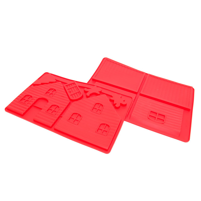 GINGERBREAD HOUSE Silicone Mould - Large (2 Pieces)