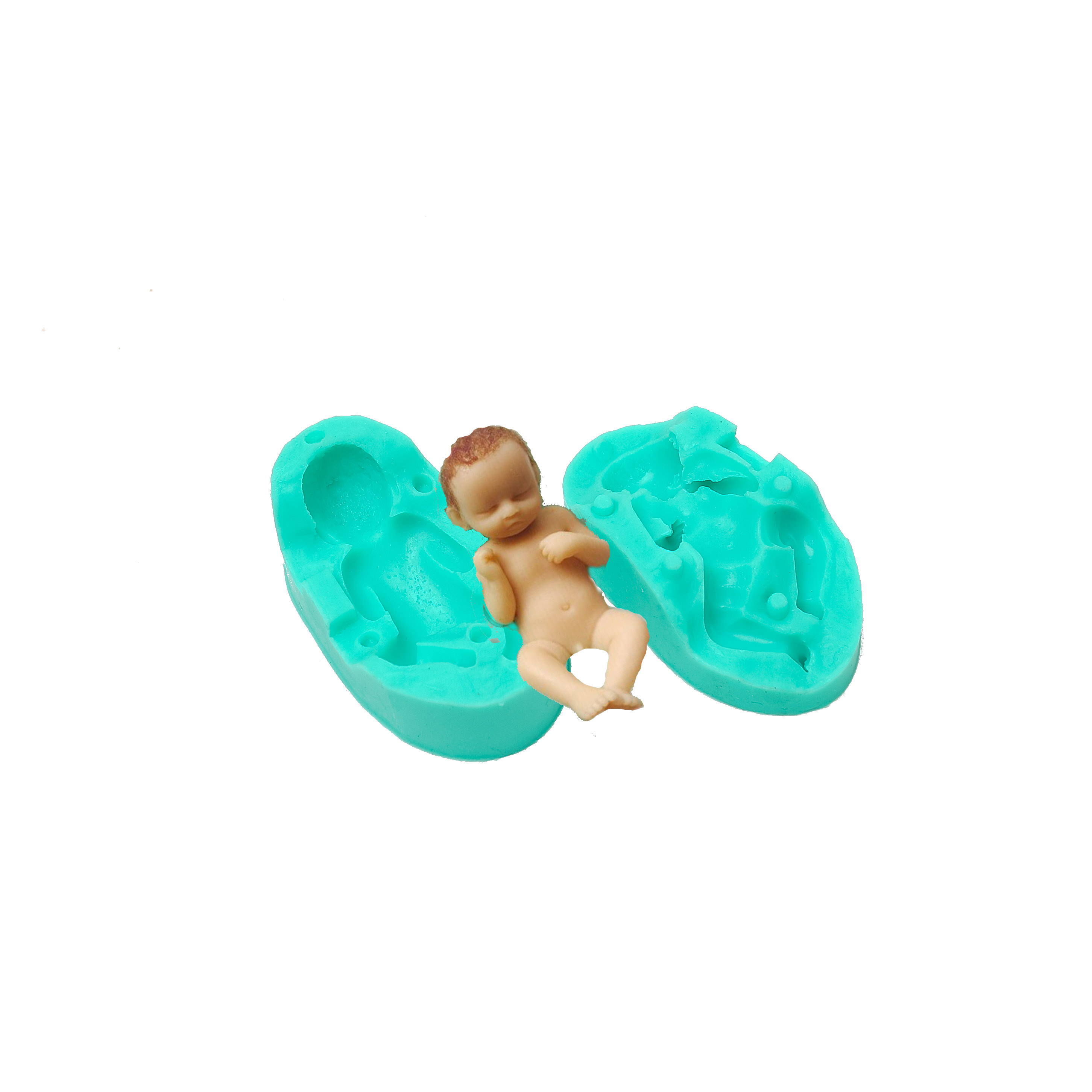 Silicone Mould - BABY SLEEPING 2