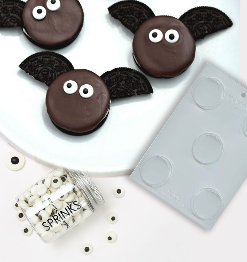 Oreo Cookie Mould - 2 Round