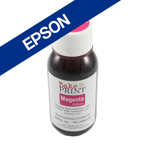 EPSON Edible Ink Refill Bottle 100ml - MAGENTA
