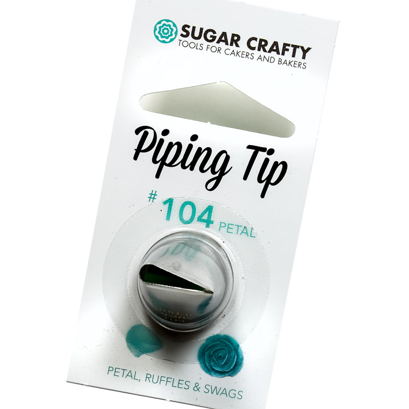 Sugar Crafty Petal Icing Tip 104