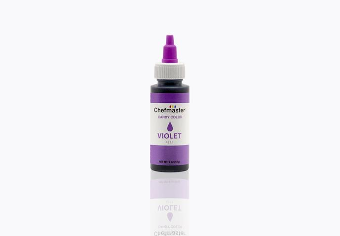 Chefmaster Oil Based Candy & Chocolate Food Colouring - VIOLET (2oz)