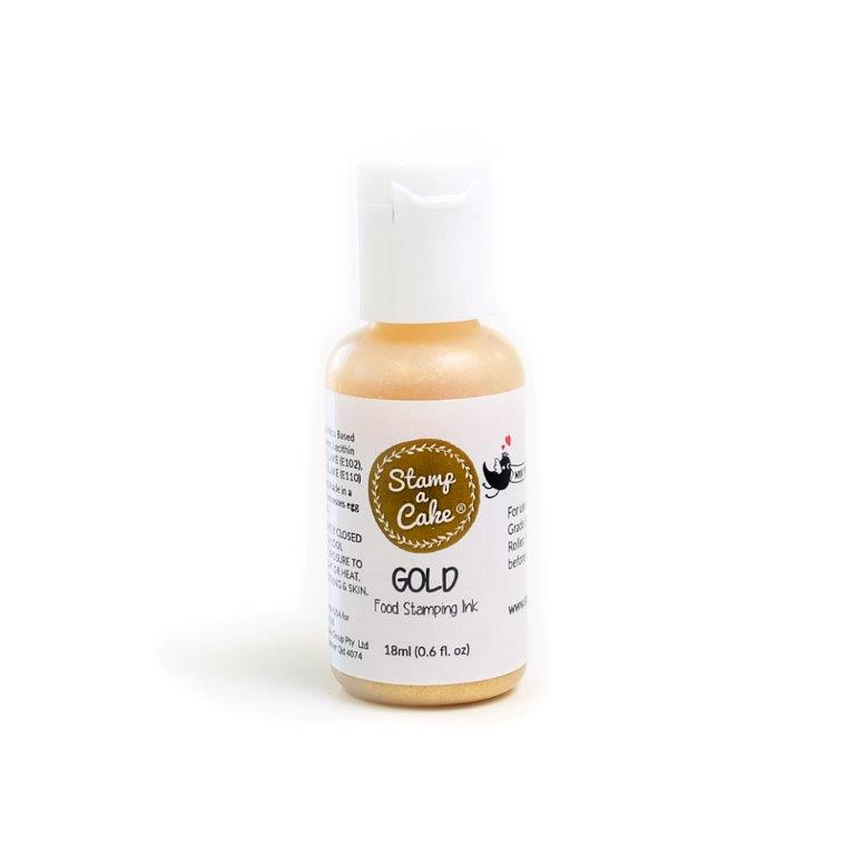 Stamp a Cake Ink GOLD - Small (18ml)
