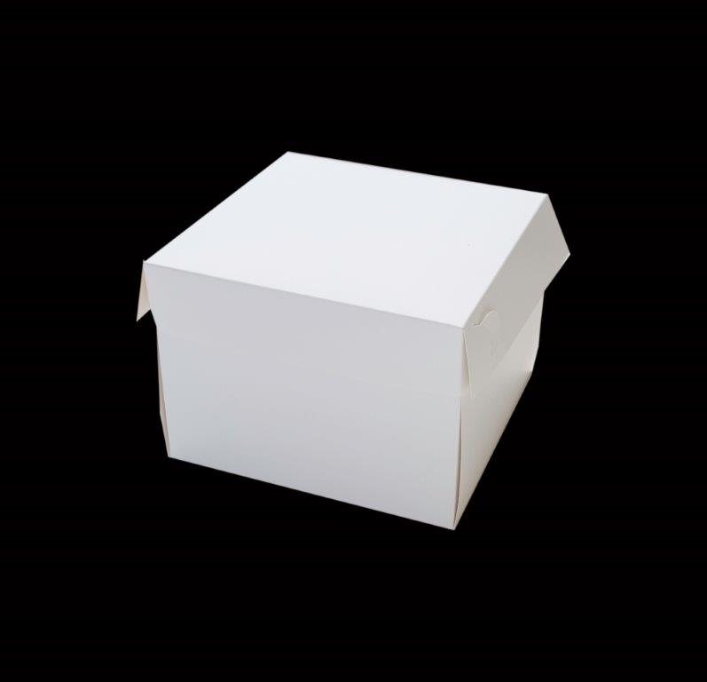 10 Square Cake Box - 6 High