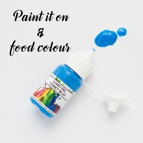 Rolkem Gel Lumo Paint COMET BLUE (15ml)