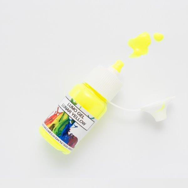 Rolkem Gel Lumo Paint LUNAR YELLOW (15ml)