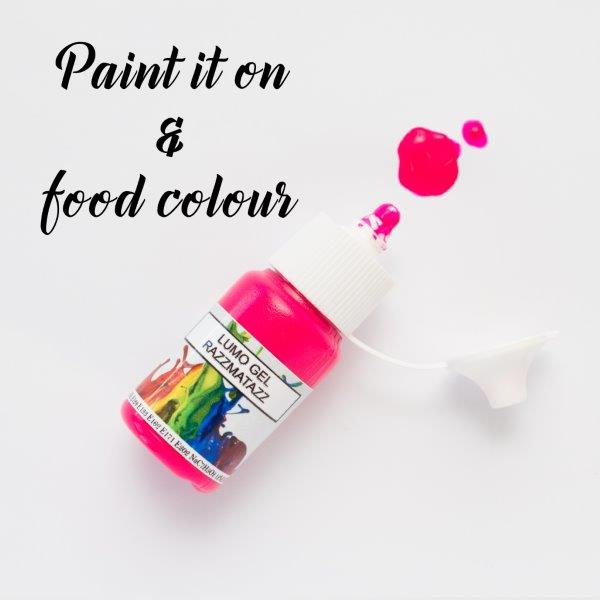 Rolkem Gel Lumo Paint RAZZMATAZZ (15ml)