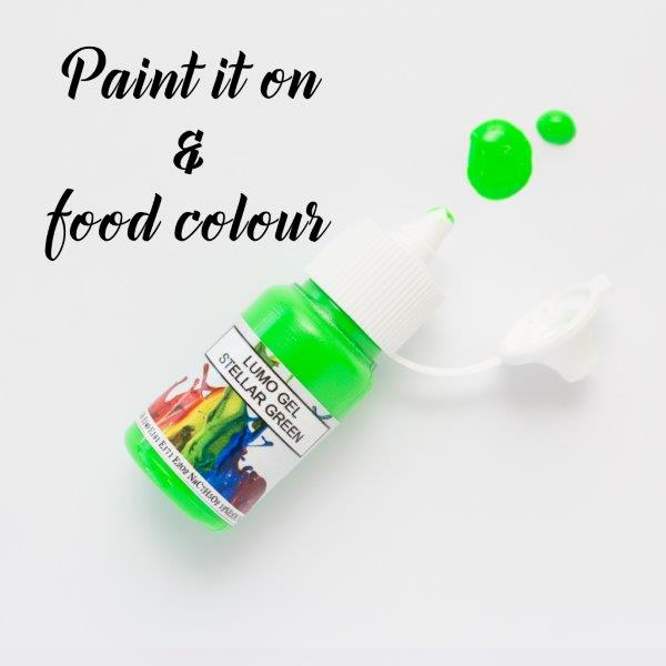 Rolkem Gel Lumo Paint STELLAR GREEN (15ml)