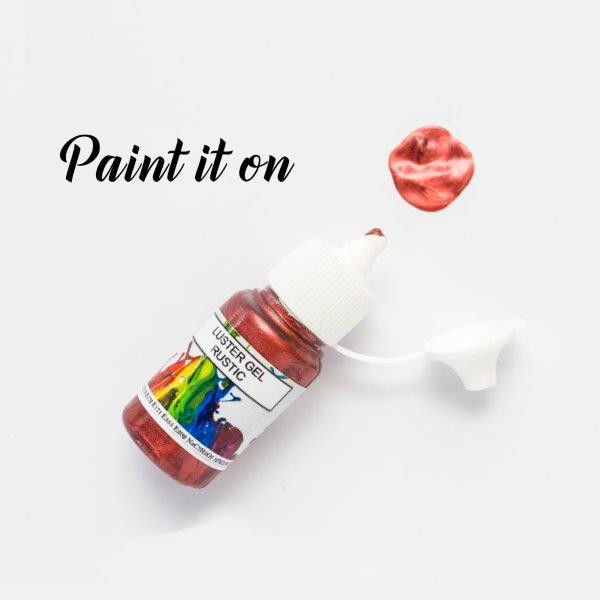 Rolkem Gel Lustre Paint RUSTIC (15ml)