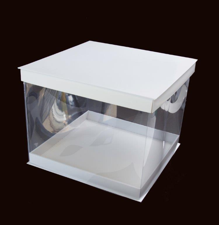 12 PVC Display Cake Box