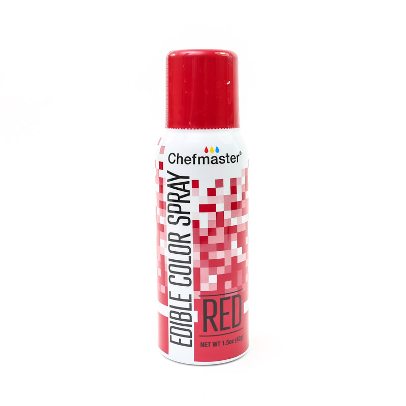 Chefmaster Edible RED Spray 42g