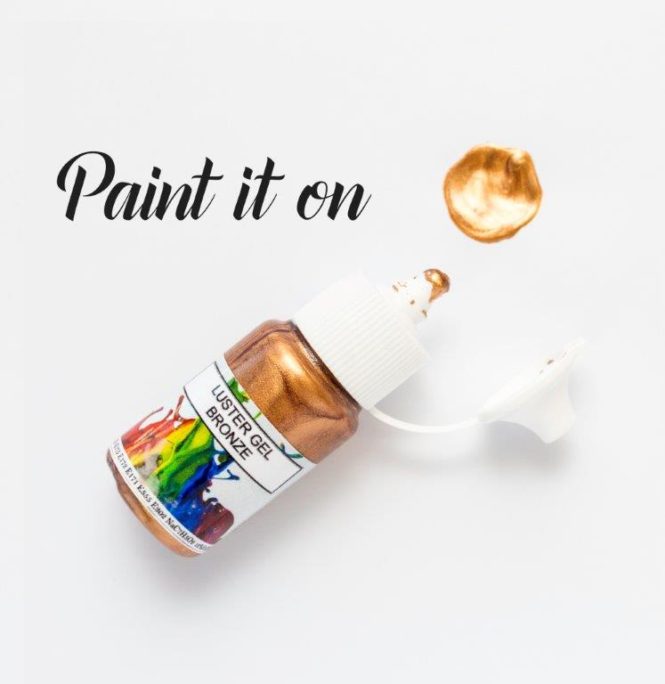 Rolkem Gel Lustre Paint BRONZE (15ml)
